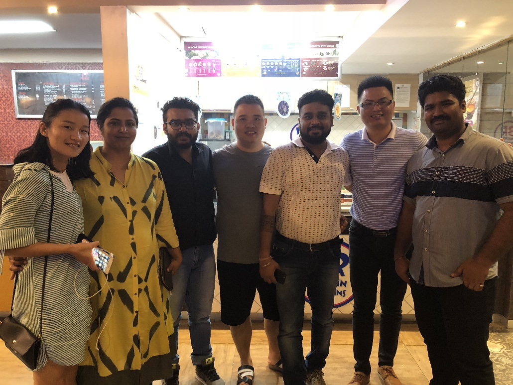 August 2018 India New Delhi Visit
